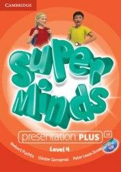 Super Minds 4 Presentation Plus DVD-ROM / Ресурси для інтерактивної дошки