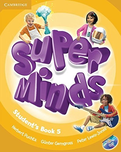 Super Minds 5 Student's Book with DVD-ROM / Підручник для учня