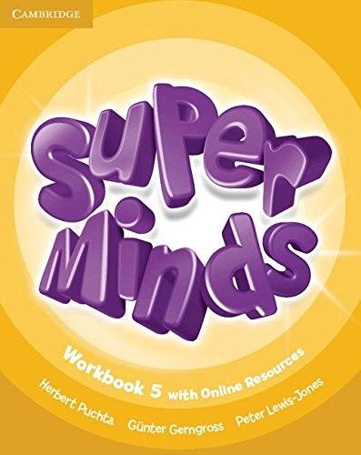 Super Minds 5 Workbook with Online Resources / Робочий зошит