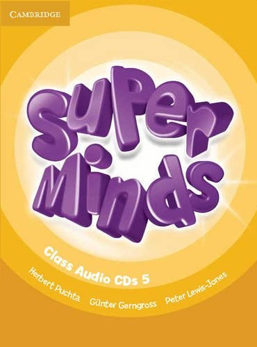 Super Minds 5 Class Audio CDs / Аудіо диск