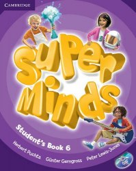 Super Minds 6 Student's Book with DVD-ROM / Підручник для учня