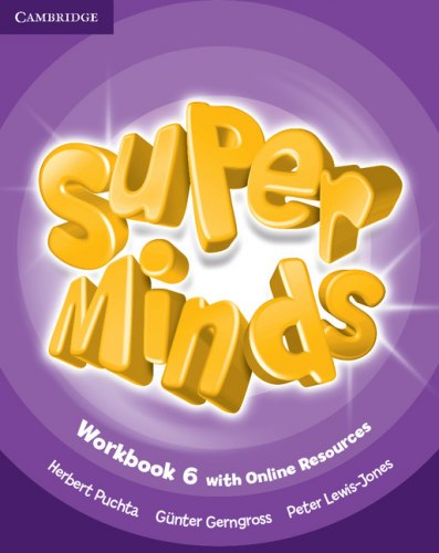Super Minds 6 Workbook with Online Resources / Робочий зошит