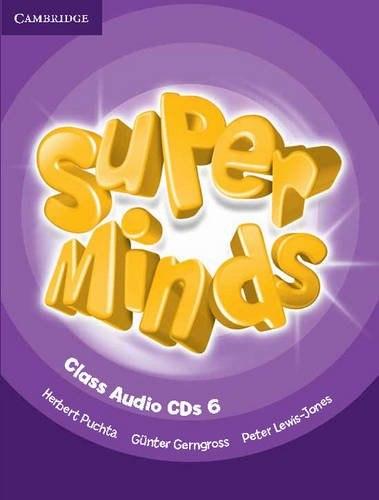 Super Minds 6 Class Audio CDs / Аудіо диск
