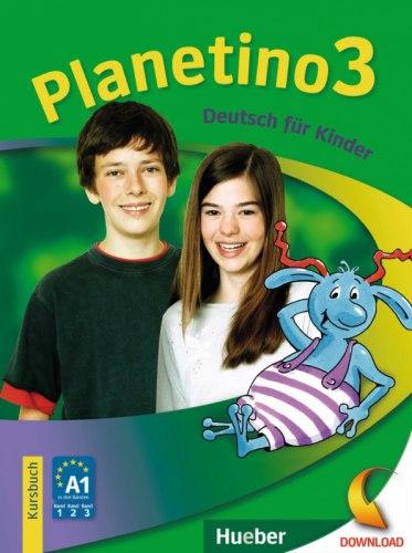 Planetino 3 Kursbuch / Підручник для учня