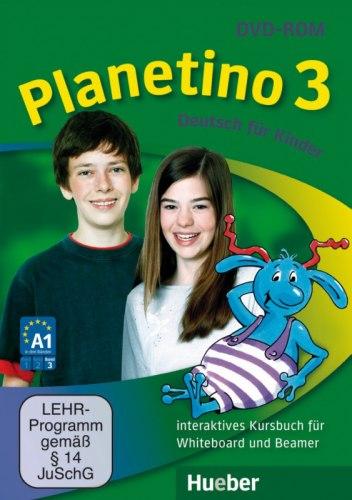 Planetino 3 Interaktives Kursbuch für Whiteboard und Beamer DVD-ROM / Ресурси для інтерактивної дошки