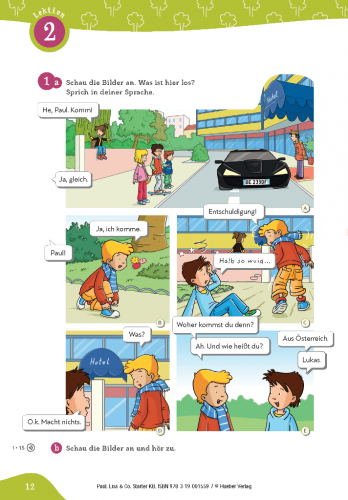 Paul, Lisa & Co Starter Kursbuch / Підручник для учня