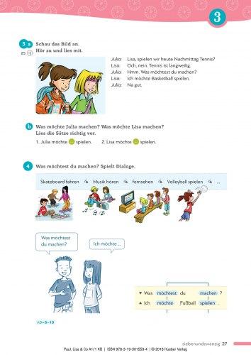 Paul, Lisa & Co A1.1 Kursbuch / Підручник для учня