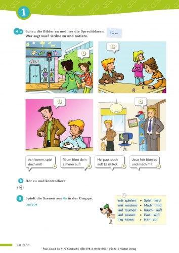Paul, Lisa & Co A1.2 Kursbuch / Підручник для учня
