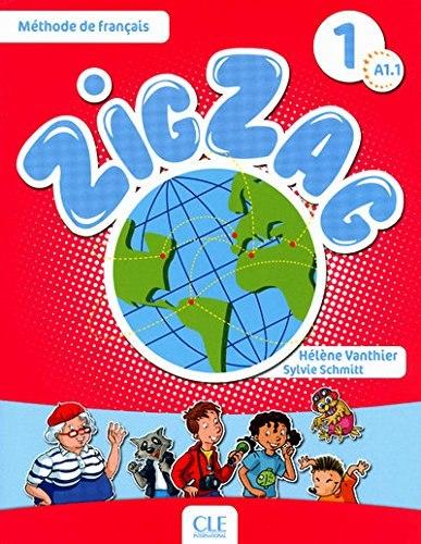 ZigZag 1 Méthode de Français — Livre de l'élève avec CD audio / Підручник для учня