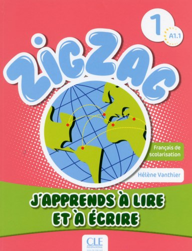 ZigZag 1 J'apprends à lire et à écrire / Книга для читання