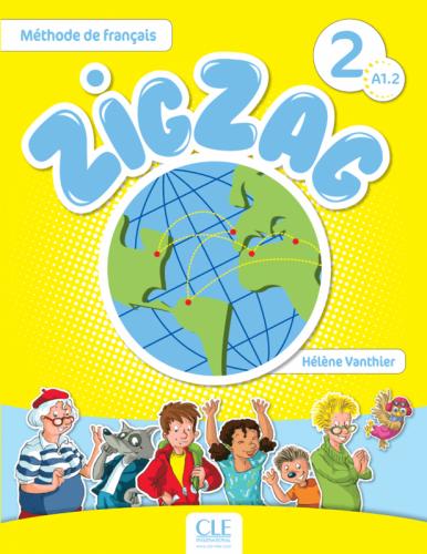 ZigZag 2 Méthode de Français — Livre de l'élève avec CD audio / Підручник для учня