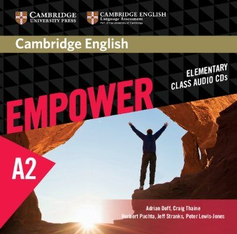 Cambridge English Empower Elementary Class Audio CDs / Аудіо диск