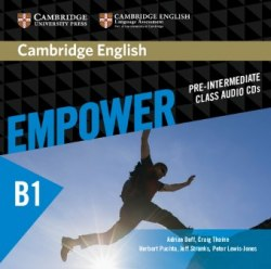 Cambridge English Empower Pre-Intermediate Class Audio CDs / Аудіо диск