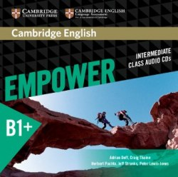 Cambridge English Empower Intermediate Class Audio CDs / Аудіо диск