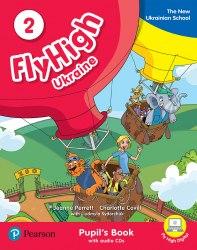 Fly High 2 Ukraine Pupil's Book with CD / Підручник для учня, видання для України