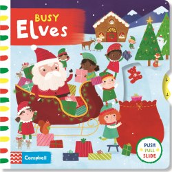 Busy Elves / Книга з рухаючими елементами