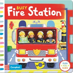 Busy Fire Station / Книга з рухаючими елементами