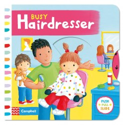 Busy Hairdresser / Книга з рухаючими елементами