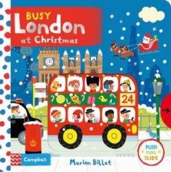 Busy London at Christmas / Книга з рухаючими елементами