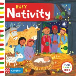Busy Nativity / Книга з рухаючими елементами