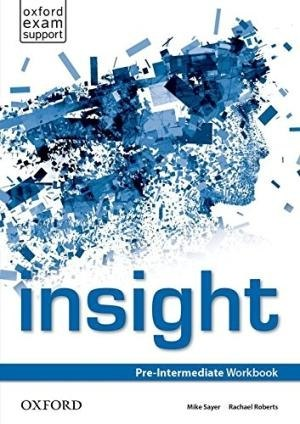 Insight Pre-Intermediate Workbook / Робочий зошит