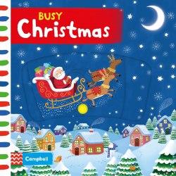 Busy Christmas / Книга з рухаючими елементами