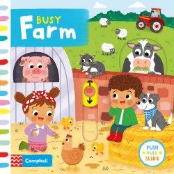 Busy Farm / Книга з рухаючими елементами
