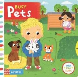 Busy Pets / Книга з рухаючими елементами