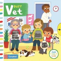 Busy Vet / Книга з рухаючими елементами