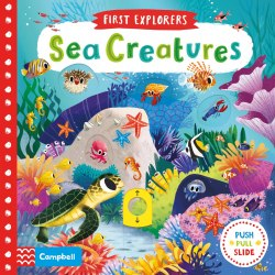 First Explorers Sea Creatures / Книга з рухаючими елементами
