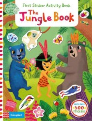First Sticker Activity Book: The Jungle Book / Книга з наклейками