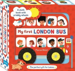 My First London Bus Cloth Book Pan MacMillan