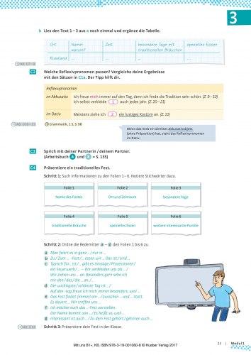 Mit uns B1+ Kursbuch / Підручник для учня