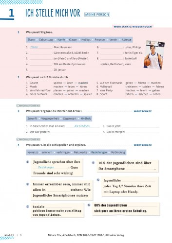 Mit uns B1+ Arbeitsbuch / Робочий зошит