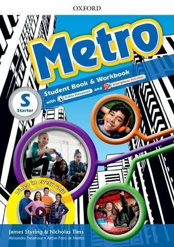 Metro Starter Student's Book and Workbook Pack with Online Homework / Підручник для учня з зошитом