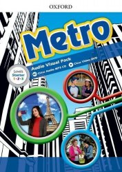 Metro Audio Visual Pack (all levels) / DVD+CD диски на всі рівні
