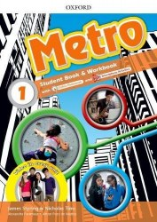 Metro 1 Student's Book and Workbook Pack with Online Homework / Підручник для учня з зошитом