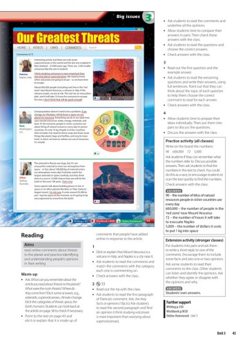 Metro 3 Teacher's Book / Підручник для вчителя