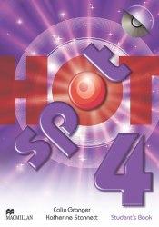 Hot Spot 4 Student's Book with CD-ROM / Підручник для учня