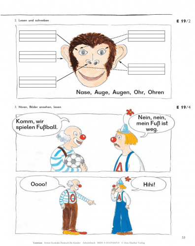 Tamtam Arbeitsbuch / Робочий зошит