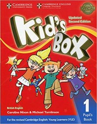 Kid's Box Updated Level 1 Pupil's Book British English / Підручник для учня