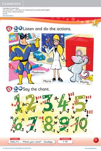 Kid's Box Updated Level 1 Pupil's Book British English / Підручник для учня