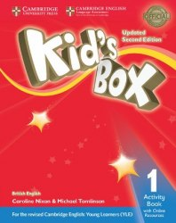 Kid's Box Updated Level 1 Activity Book with Online Resources British English / Робочий зошит