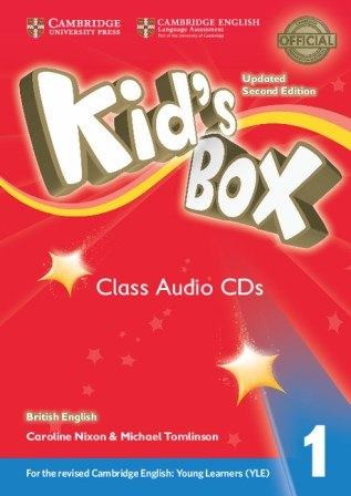 Kid's Box Updated Level 1 Class Audio CDs (4) British English / Аудіо-диск