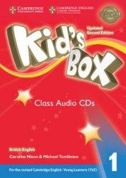 Kid's Box Updated Level 1 Class Audio CDs (4) British English / Аудіо диск