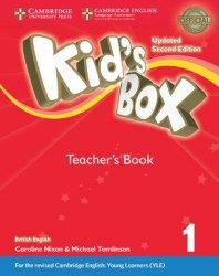 Kid's Box Updated Level 1 Teacher's Book British English / Підручник для вчителя