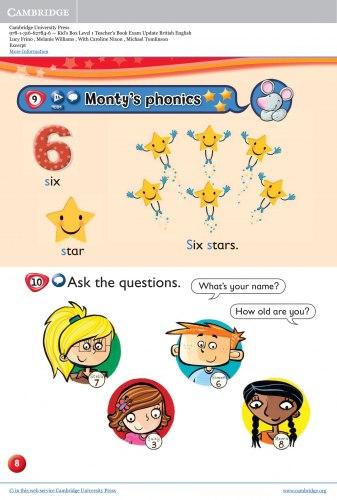 Kid's Box Updated Level 1 Teacher's Book British English / Підручник для вчителя