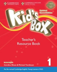 Kid's Box Updated Level 1 Teacher's Resource Book with Online Audio British English / Ресурси для вчителя