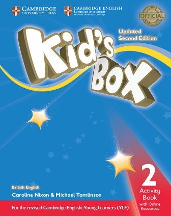 Kid's Box Updated Level 2 Activity Book with Online Resources British English / Робочий зошит