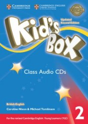 Kid's Box Updated Level 2 Class Audio CDs (4) British English / Аудіо-диск